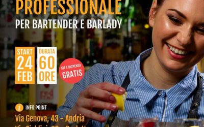 Corso per Bartender e Barlady